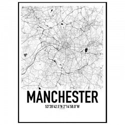 Manchester Karta