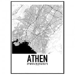 Athen Karta