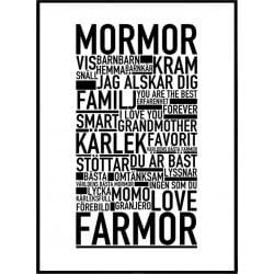 Mormor Farmor Poster