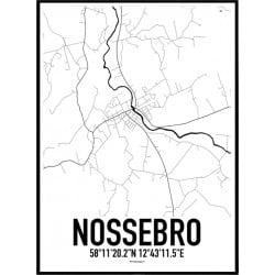 Nossebro Karta Poster