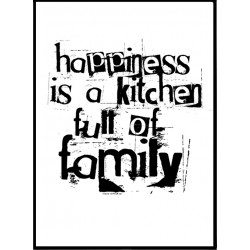 Family Kitchen Poster