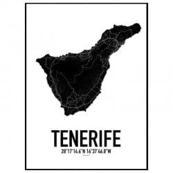 Teneriffa Karta