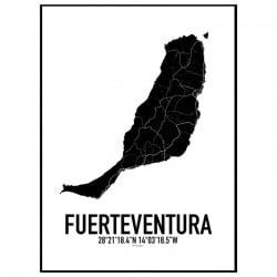 Fuerteventura Karta