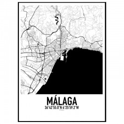 Malaga Karta