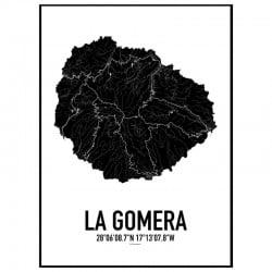 La Gomera Karta