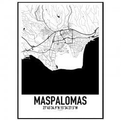 Maspalomas Karta