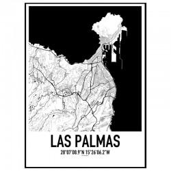 Las Palmas Karta
