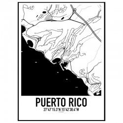 Puerto Rico Karta