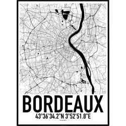 Bordeaux Karta