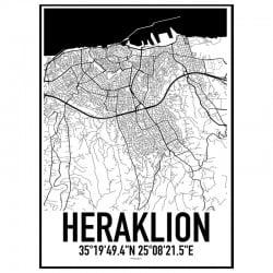 Heraklion Karta