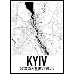 Kiev Karta Poster