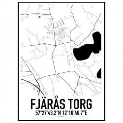 Fjärås Torg Karta