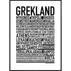 Grekland Poster