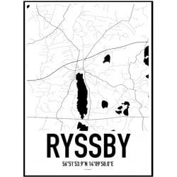 Ryssby Karta Poster
