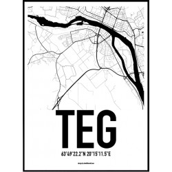 Teg Karta Poster