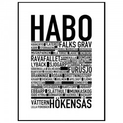 Habo Poster