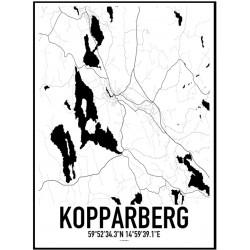 Kopparberg Karta Poster