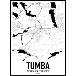 Tumba Karta Poster