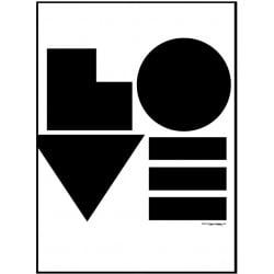 Love Block Poster