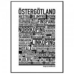Östergötland Poster