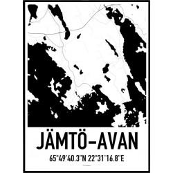 Jämtö-Avan Poster