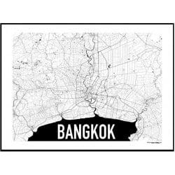 Karta Bangkok Poster