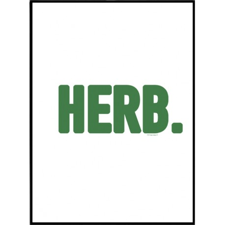 Herb Poster