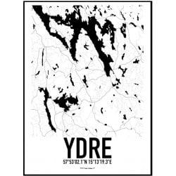 Ydre Karta Poster