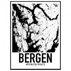 Bergen Karta