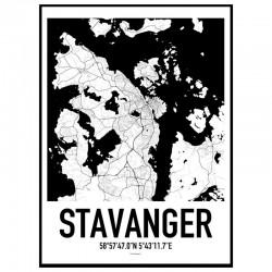 Stavanger Karta