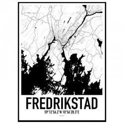 Fredrikstad Karta