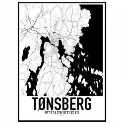 Tønsberg Karta