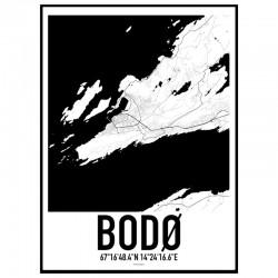 Bodø Karta
