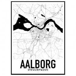 Aalborg Karta