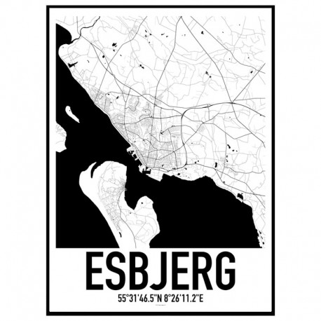 Esbjerg Karta