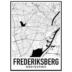 Frederiksberg Karta