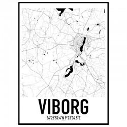 Viborg Karta
