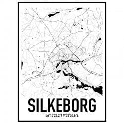 Silkeborg Karta