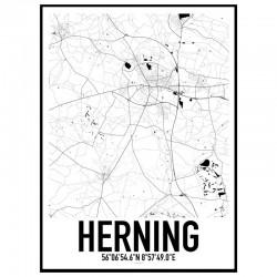 Herning Karta