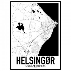 Helsingør Karta