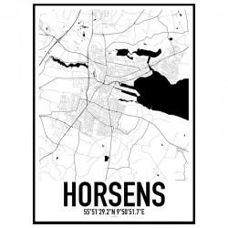 Horsens Karta