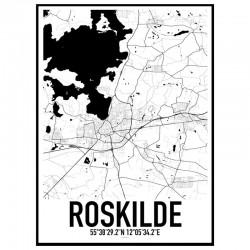 Roskilde Karta