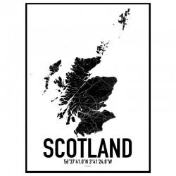 Skottland Karta