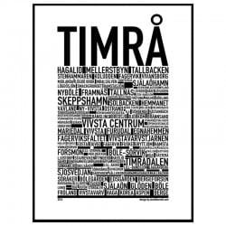 Timrå Poster