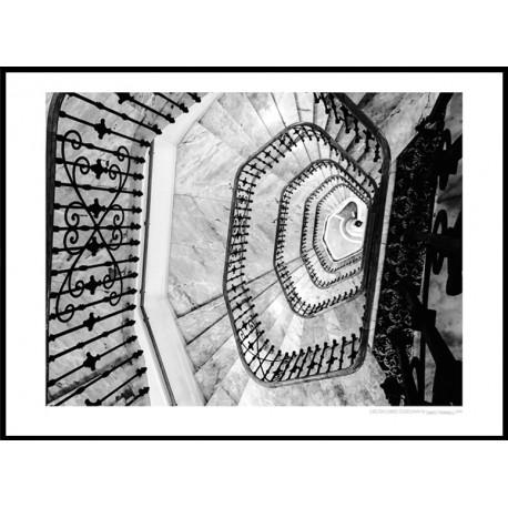 Carlton Stairs Poster