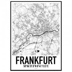 Frankfurt Karta