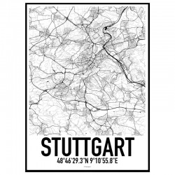 Stuttgart Karta