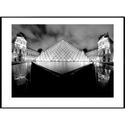 Louvre Paris Poster