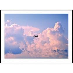 Miami Sky Poster