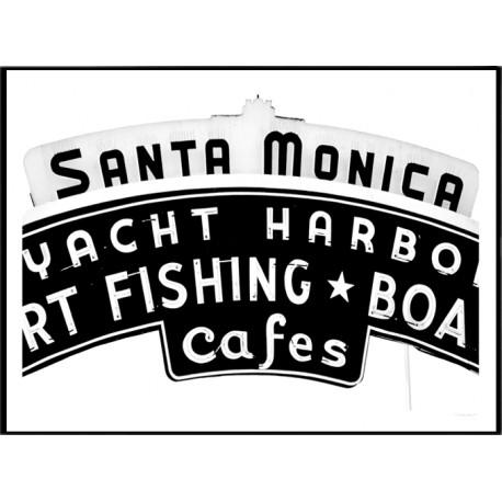 Santa Monica Poster